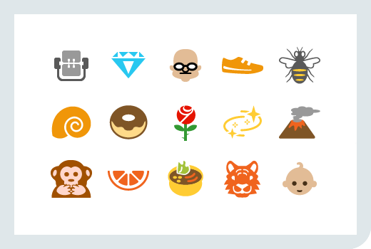 Emoji Single Icons Our icon team recently createdEmoji Single Icons