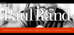 design pioneers: paul rand